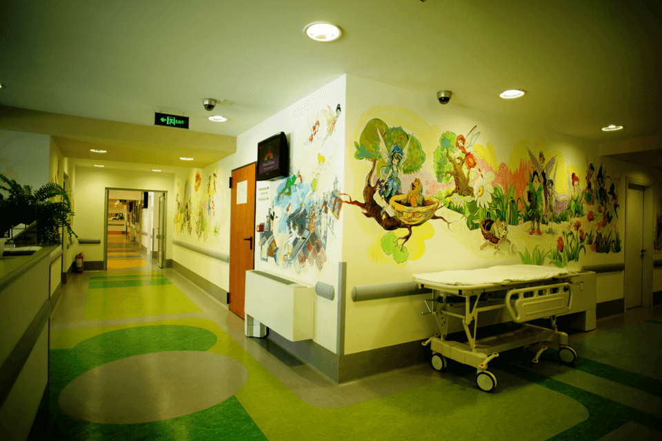 Covor PVC pentru orice concept de design pentru spital sau clinica medical