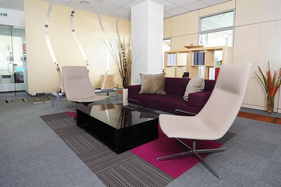 Mochet rola cu insula de design pentru orice birou