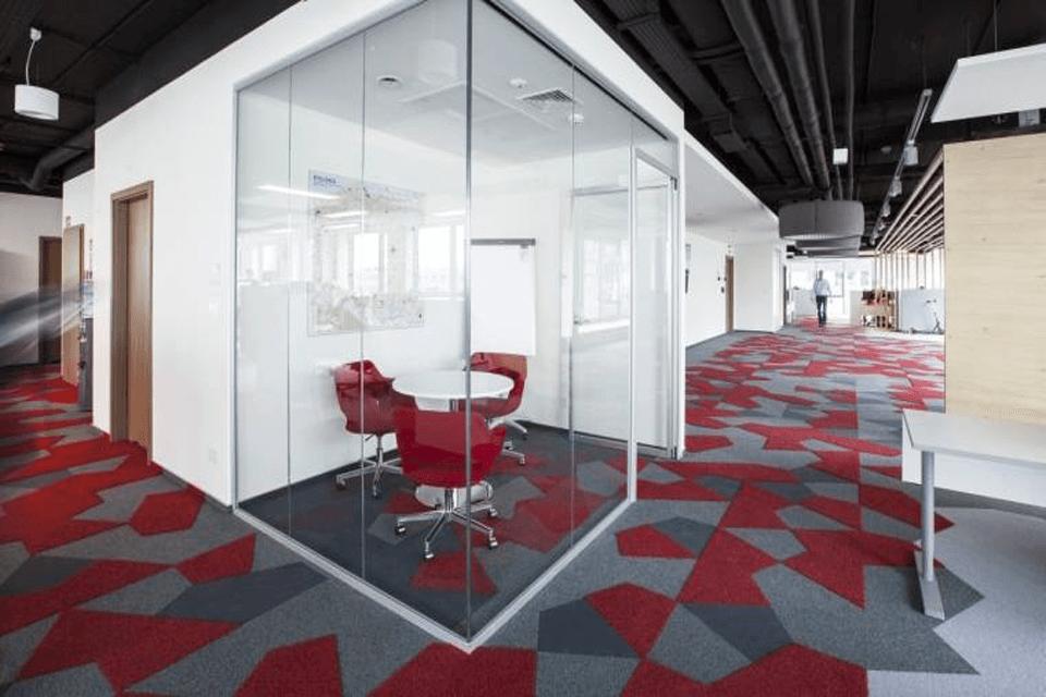 Mocheta Vorwerk Freeform pentru sediu birrou