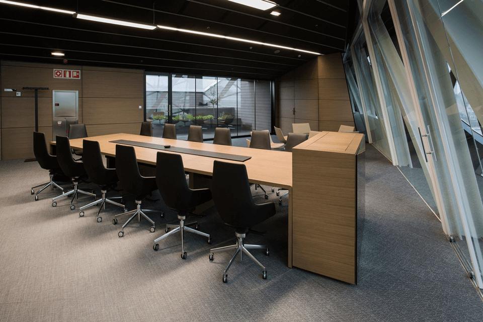 Mocheta pentru sali de sedinte sau consiliu - birouri