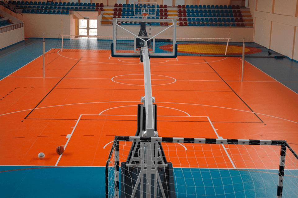 Parchet multiflex sportiv sala de baschet