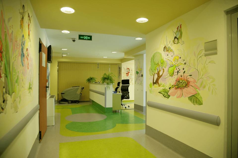 Pardoseala din PVC cu design personalizabil pentru unitati medicale