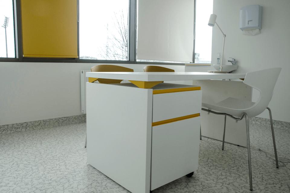 Parodeala din PVC cu model pentru cabinete medicale individuale